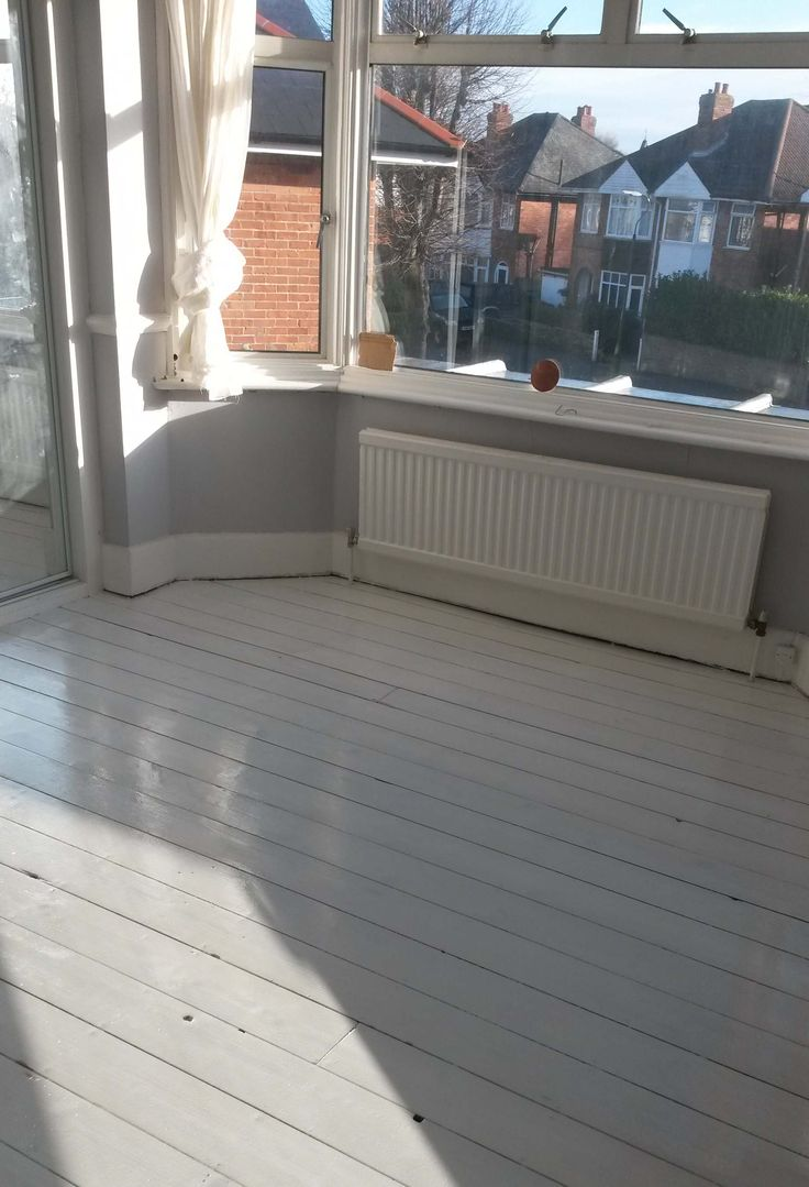 Whole of downstairs rooms in Westbourne floors sanded then whitewashed. Made Rooms look more spacious and lighter. Wood Floor restoration by Acorn, Dorset