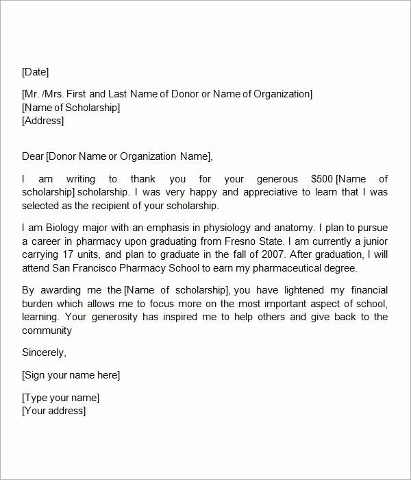 Docstoc Is Closed Scholarship Thank You Letter Thank You Letter Template Thank You Letter Examples