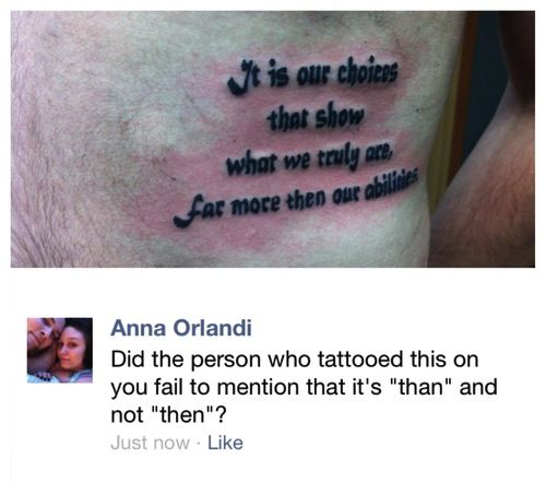 The Most Blatant Grammar And Spelling Mistakes Ever Seen In Tattoos   Happy Place