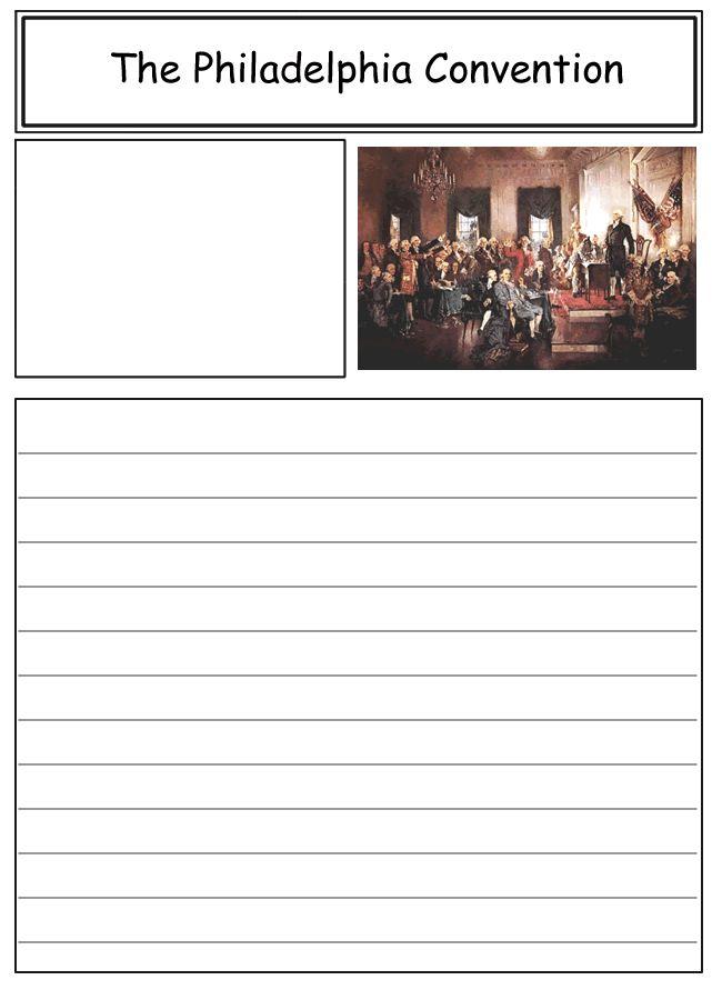 Homeschool Helper Online's Philadelphia Convention Notebooking