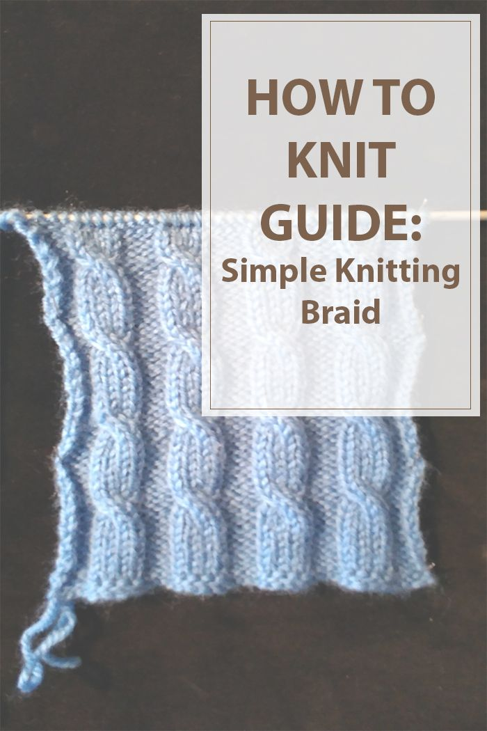 I had this idea to start posting some knitting pattern instructions for various styles and designs to knit a hat or a sweater and more. This articles will help knitter to learn more designs to add to their projects and maybe create their own knitting patterns. Today we will start with a simple knitting braid.  | www.housewiveshobbies.com |