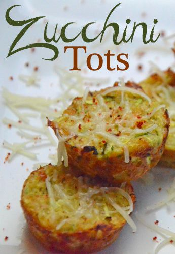 Zucchini Tots | Pork rinds, Bread crumbs and Zucchini tots