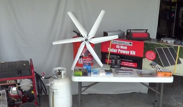 Alternative Power Sources in a SHTF Situation!