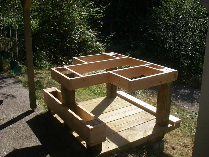 free plans for outdoor side table