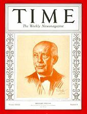 Strauss was on the cover of TIME in 1927 and (here) 1938 - Wikipedia, the free encyclopedia