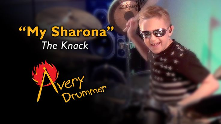 "My Sharona"" Avery Molek, 8 year old Drummer"