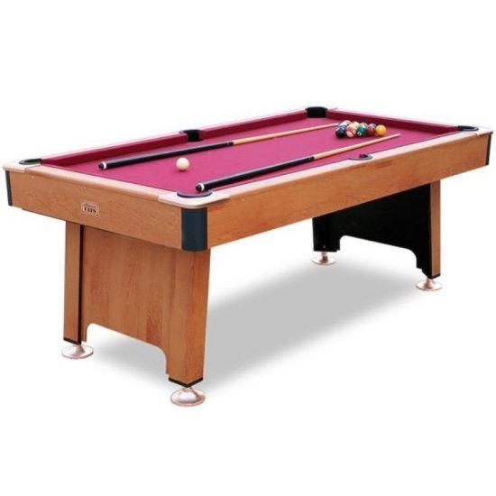 Minnesota Fats Pool Table   7 Fairfax Billiard Table W/ Ball Return    Shipping Included