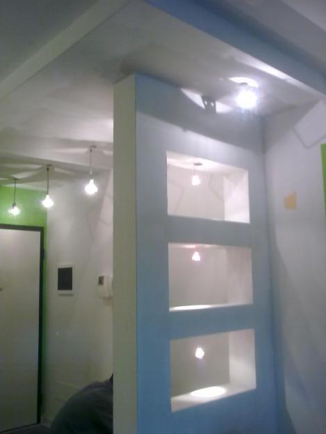 Ingresso in cartongesso arredamento ingresso soggiorno for Parete soggiorno cartongesso