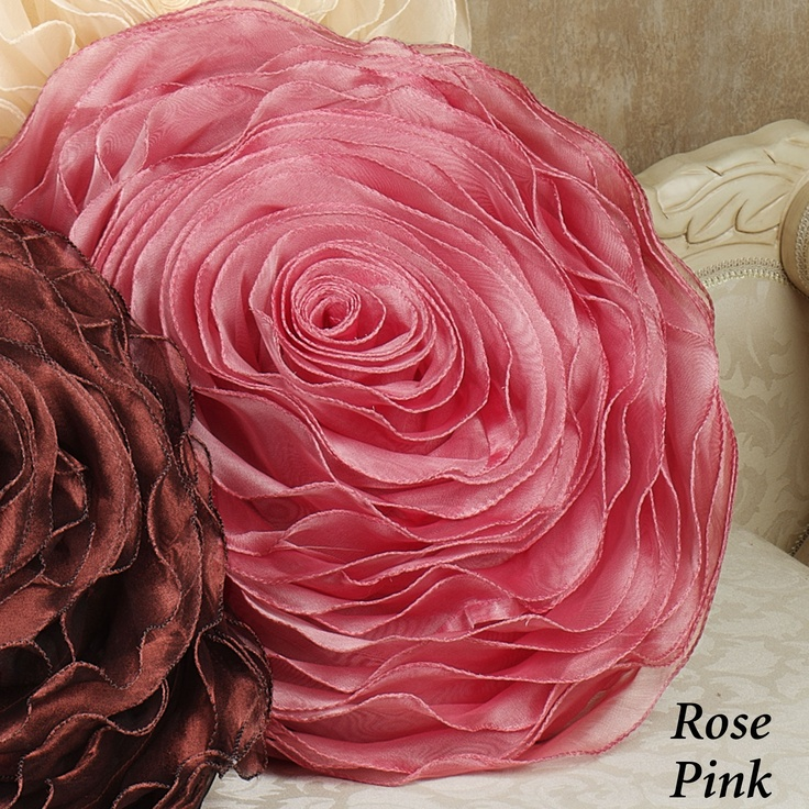 Hayley Rose Tailored Pillow  16 Round