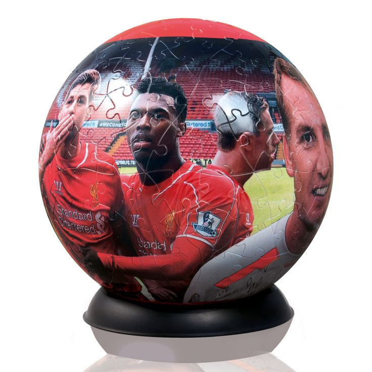 Liverpool Football Club 3D Football Puzzle Globe - Actual Football Size - available from Hobbies, the UK's favourite online hobby store!