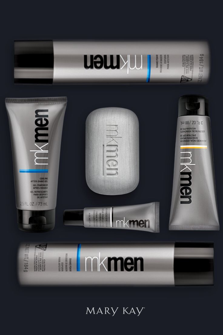 He's used to having Mary Kay lipstick on his cheek. Now it's time to gift him some Mary Kay of his own! He'll love the MKMen® Cooling After-Shave Gel, Face Bar, Advanced Facial Hydrator Sunscreen Broad Spectrum SPF 30*, Advanced Eye Cream, and Shave Foam. Once he tries MKMen®, he won't look back. | Mary Kay
