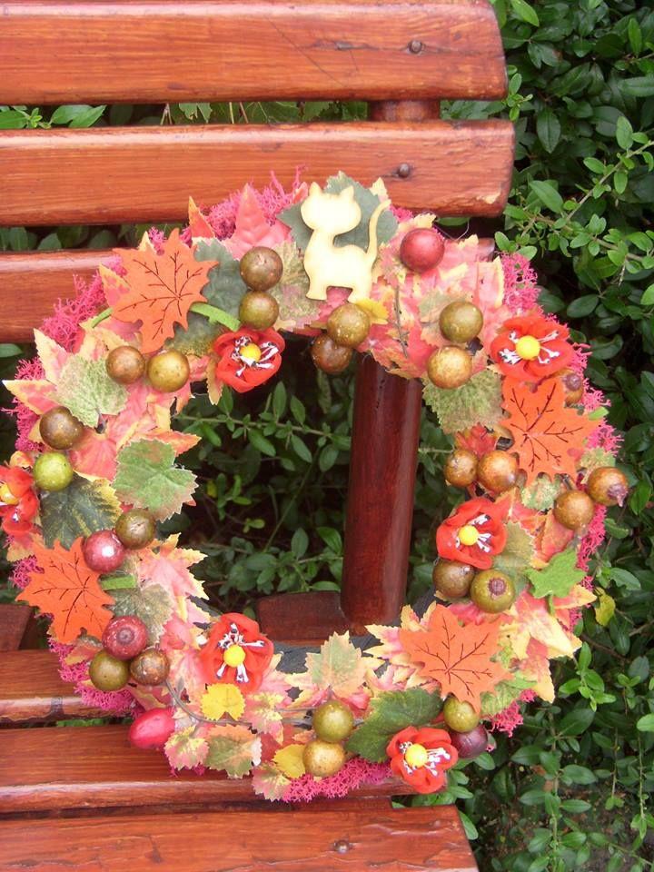 Ajtódísz az ötletdekor oldalon. www.otletdekor.unas.hu
