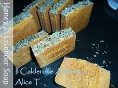 Il Calderone Alchemico Cosmesi Home Made: HONEY & LAVANDER SOAP (Alice T.)