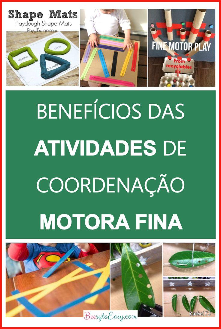 37 Atividades para desenvolver a coordenação motora fina dos seus filhos