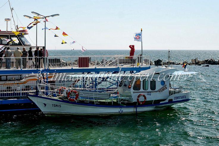 Inaugurare ponton in statiunea Mamaia / Opening pontoon Mamaia / Öffnen Ponton Mamaia / L'ouverture ponton Mamaia, vaporas tomis,