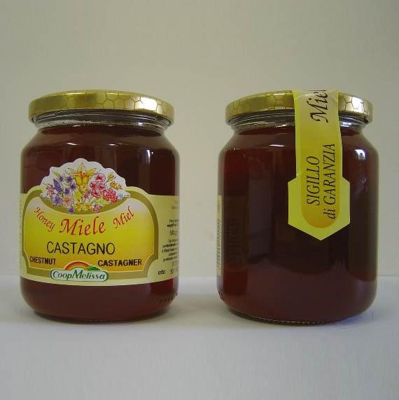 Miele di Castagno, prodotto di altissima qualità, Vasetto da 1 Kg.