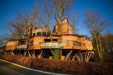 10 Most Awesome Tree Houses - Oddee.com (tree houses of the world, cool tree houses...)