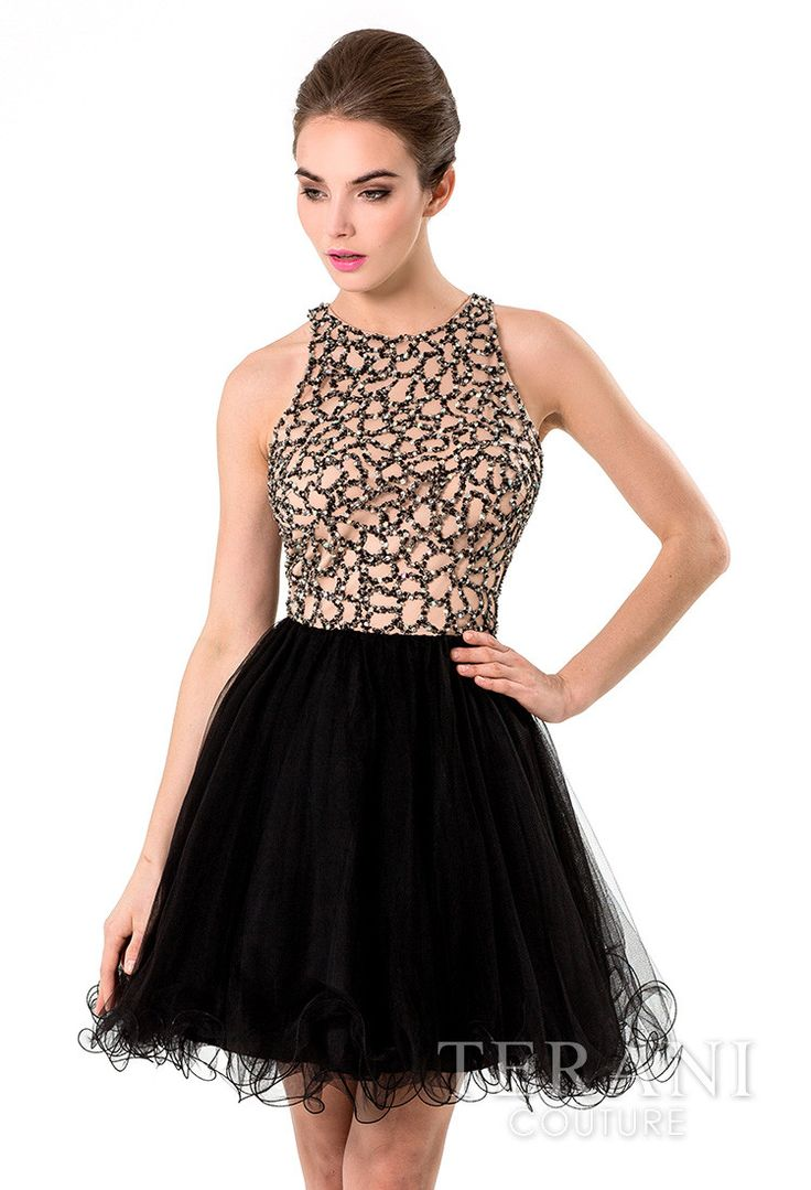 Terani embellished dress with tutu skirt reveboutique tutu