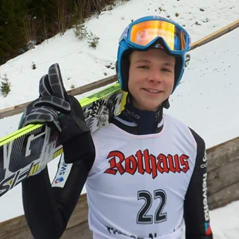 New generation: Andreas Schuler, COC Titisee-Neustadt 2015 ©ME  @aaaandreasss  danke nochmal! :-) #skijumper #skijumping #skispringer #skispringen #andreasschuler #schweiz #newgeneration #talent #titiseeneustadt #fun