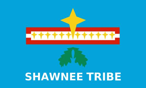Flag of The Shawnee Tribe of Oklahoma.svg