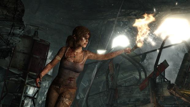 Divulgadas novas imagens de Tomb Raider
