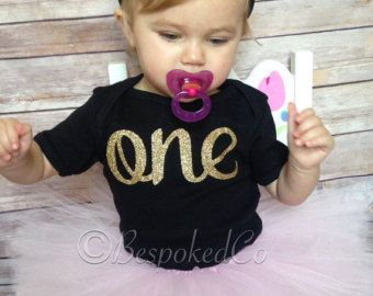 Pink and gold first birthday /pink and gold first by BespokedCo