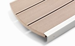 Profil deck wpc relazzo puro culoare ambra 4