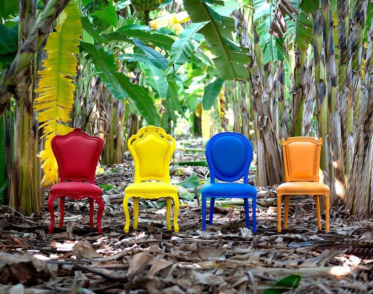 POLaRT Colorful Dining Chairs | The Best Wood Furniture