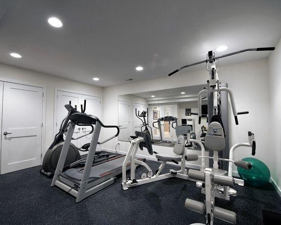 Die besten 25+ Gym at home design Ideen auf Pinterest - ideen heim fitnessstudio einrichten