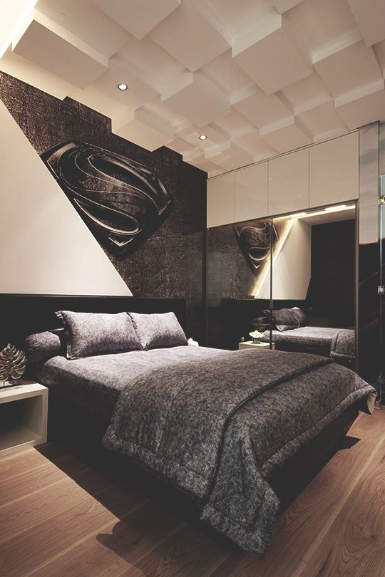 Modern Male Bedroom Designs: Best 25+ Superman Room Ideas On Pinterest