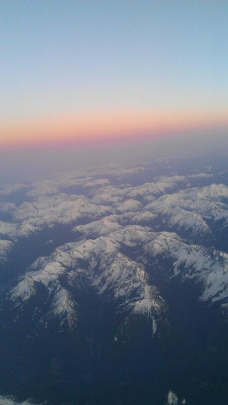 Plane view of mountain's!