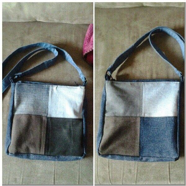Farkkutilkkulaukku