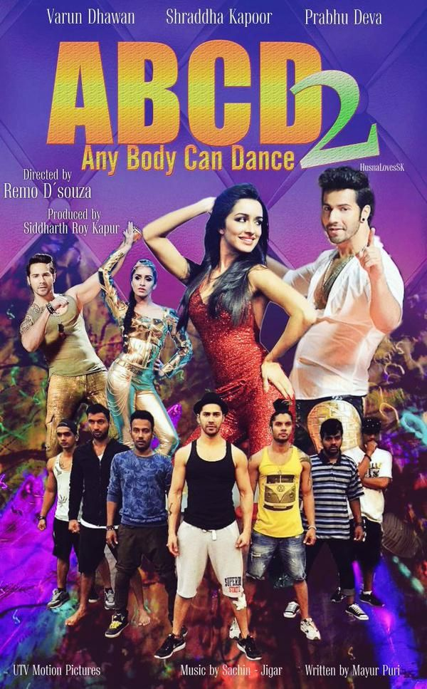 It is the sequel to the 2013's ABCD: Any Body Can Dance. It stars Varun Dhawan, Shraddha Kapoor and Prabhu Deva in lead roles with Lauren Gottlieb, Raghav Juyal and Dharmesh Yelande in supporting roles. Directed by Remo D'Souza and produced by Siddharth Roy Kapur and Walt Disney Pictures. You can watch full movie online in 3D video, Putlocker, Nowvideo, Megashare because from the first time it has been releasing in best quality.  Click to Download➤➤…