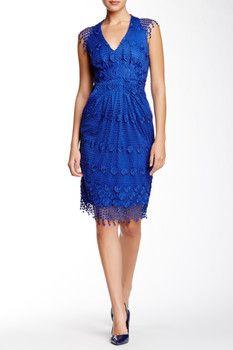 Eva Franco Aden Crochet Dress