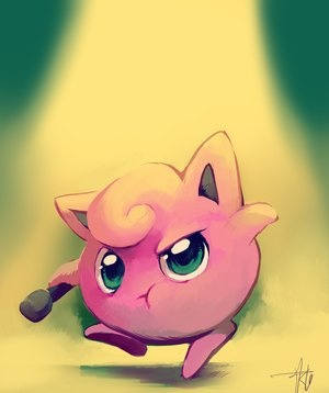 Pokemon #39- Jigglypuff. I remember watching this with my nephew like 10 yrs ago