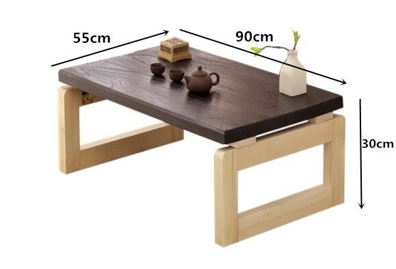 Vintage Wooden Table Foldable Legs Rectangle Living Room Furniture Asian Antique Style Long Bench Low Coffee Folding Table Wood Buy At The Price Of 92 07 In Rectangle Living Room