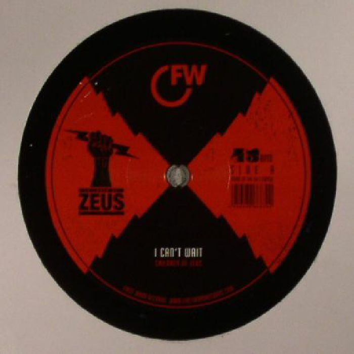 The artwork for the vinyl release of: Children Of Zeus - I Cant Wait (First Word) #music HipHop