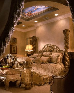 Perla's Own Home - Mediterranean - Bedroom - miami - by Perla Lichi Design