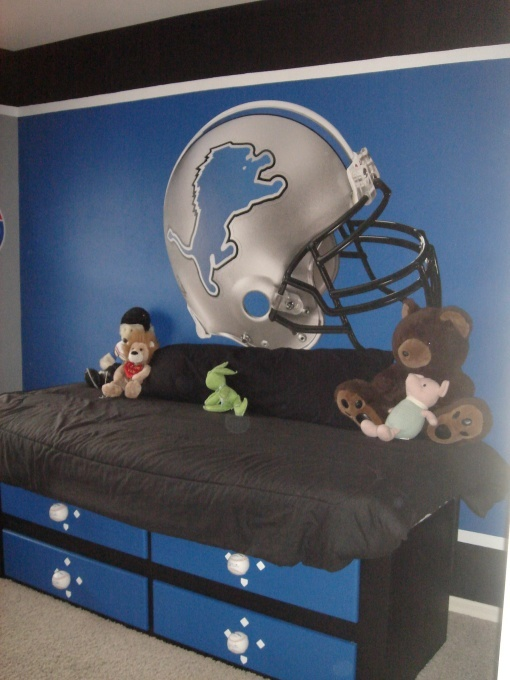15 Best Detroit Lions Room Amp Wo Man Caves Images On