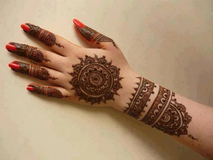 Easy Mehndi Ideas : Best mlwi mehndi night images henna