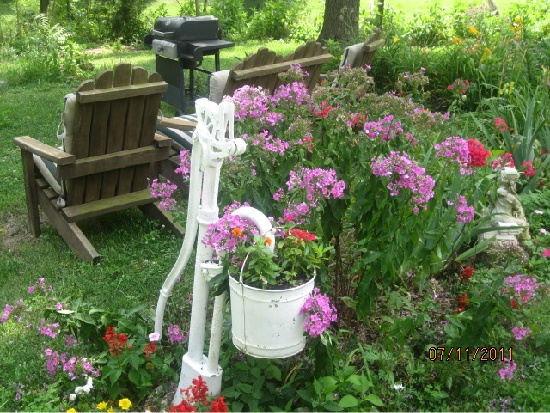 Ideas for my own old water pump..