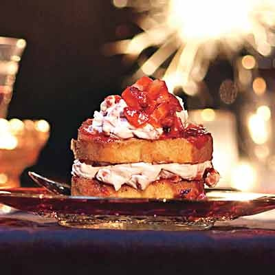 Grilled Strawberry Cheesecake Towers | Recipe