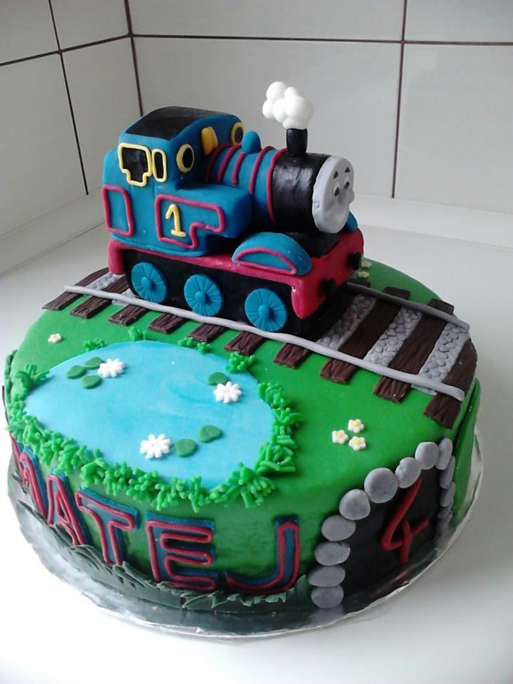 Торт с томасом фото