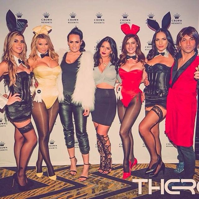 View this image of Sarah Robertson Posing at her gig Playboy Party at therapy with other bunnys in Melbourne. Visit here (http://sarah-robertson.com/) #party #event #promoevent #gigs