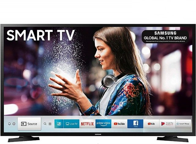 Ua32n4310 Samsung Smarttv Series Inches Smart Ready Black Led 80 32 Hd Cm Tv 4samsung 80 Cm 32 Inches Series 4 Hd R In 2020 Smart Tv Prime Video Netflix