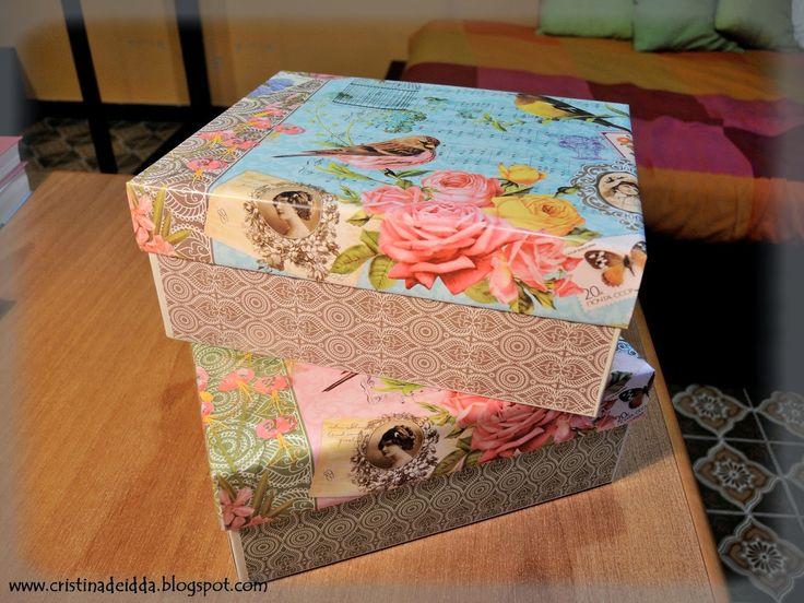 Scrappiamo Insieme: come rivestire le scatole