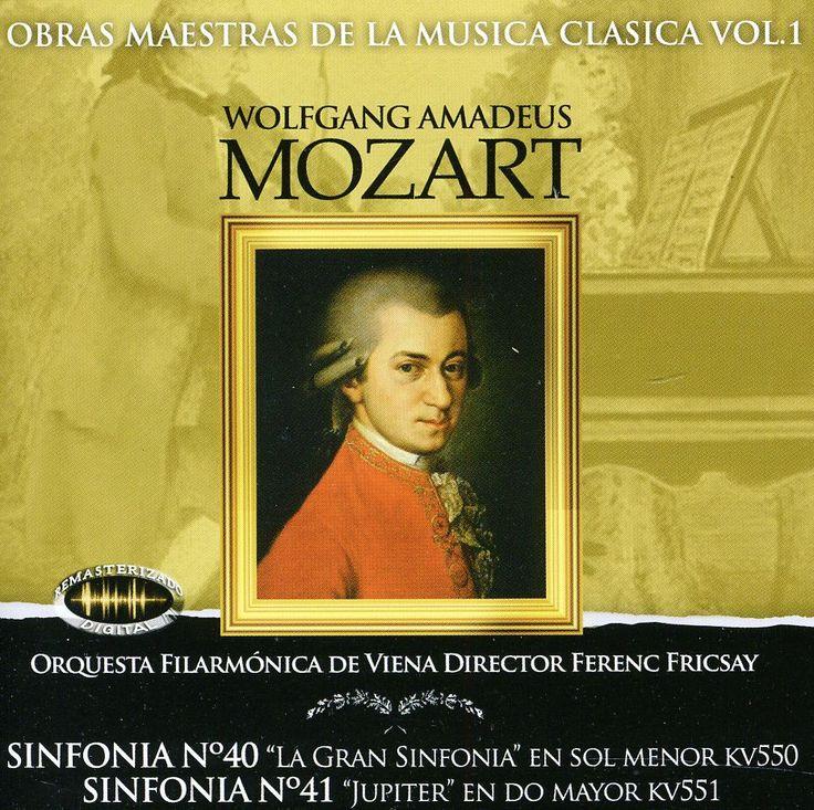 Fricsay Ferenc-Orquesta Filarmonica De Viena - Mozart: Sinfonia No 40/41