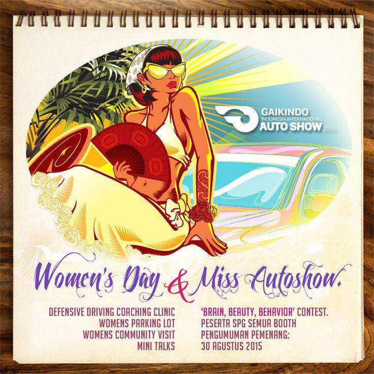 Dari GIIAS untuk para wanita   #GAIKINDO #AutoShow #GIIAS2015 #ICE_BSDCITY #meme #theartofautomotive