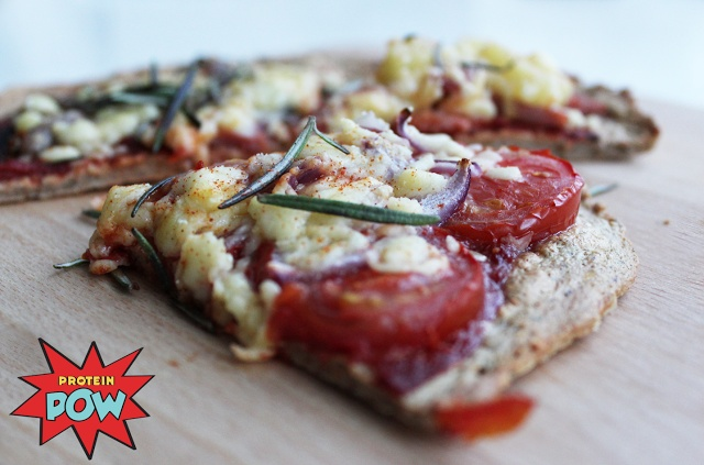 LOW-CARB PROTEIN PIZZA!