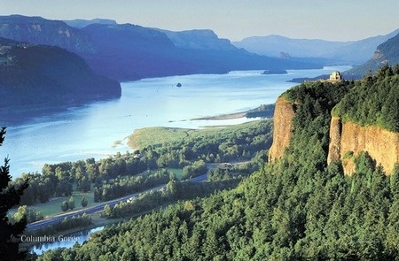 Columbia River Gorge - by John Tribolet - in 'Oregon Paintings' on ITookAShot.com